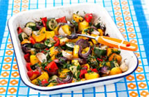 Tarragon and Lemon Roasted Vegetables