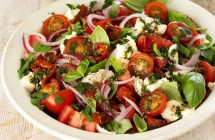 Three Tomato & Herb Salad