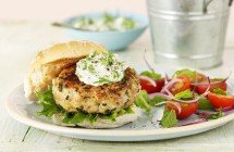 Turkey Burgers with Mint