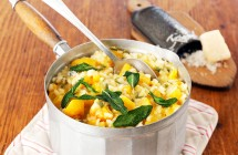 Butternut and herb risotto
